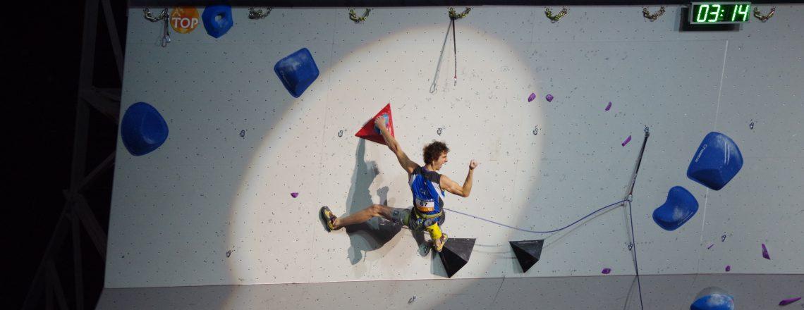 Championnats du monde d'escalade : Paris Accor Hotel Arena 2016